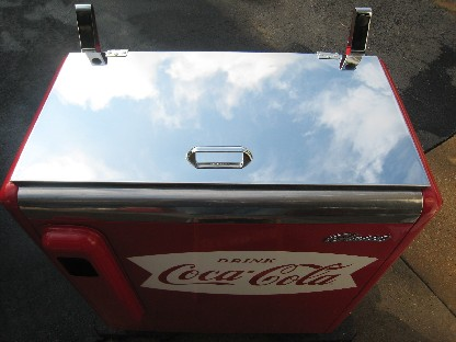 Coke Slider top lid after