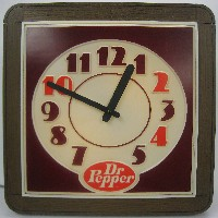 1970's Dr Pepper Clock
