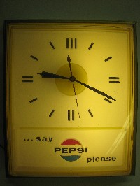 1960's Pepsi Clock