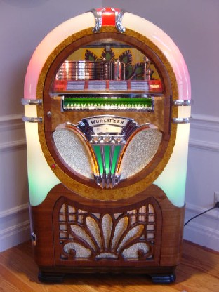 Wurlitzer 750 we restored for our customer