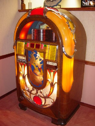 Wurlitzer 850 we restored for our customer