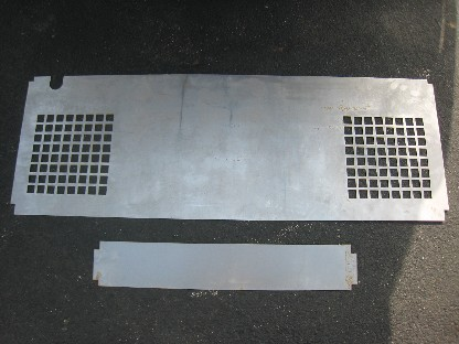 New compressor cover metal