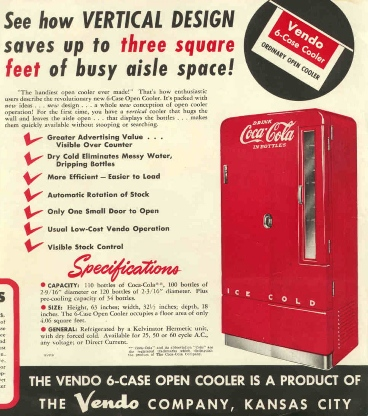 Coca Cola Six Case Vertical
